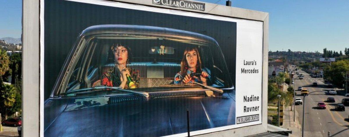 The Billboard Creative convirtió vallas publicitarias en obras de arte