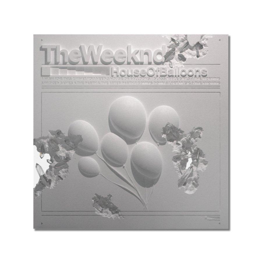 Portada de House of Balloons por Daniel Arsham