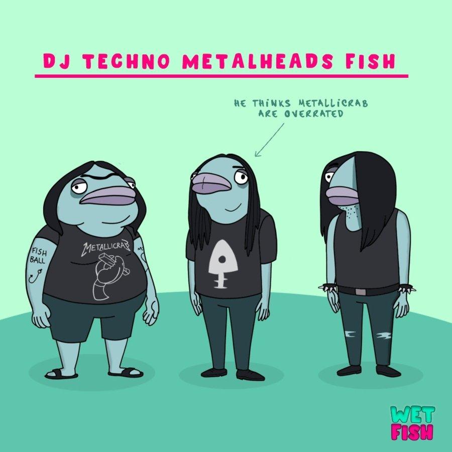 """Personajes de """"Wet Fishes"""""""