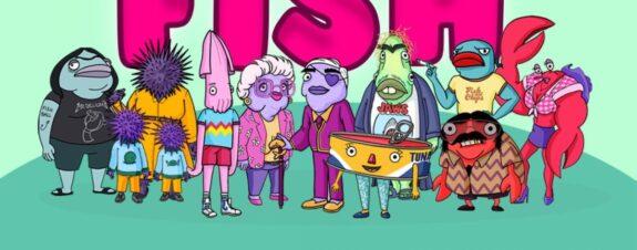 Wet Fish: la serie más cool, satírica y prometedora sobre peces