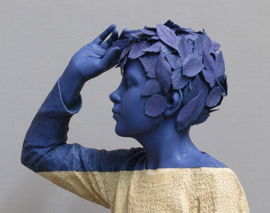 Escultura de Willy Verginer