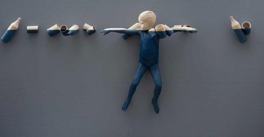 Esculturas realistas de madera