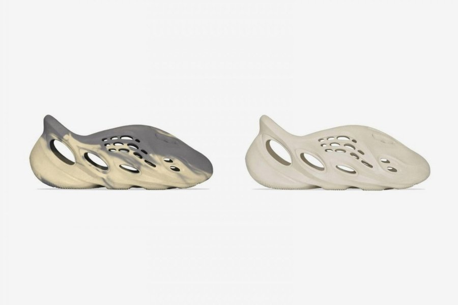 "adidas YEEZY FOAM RNNR ""Sand"" and ""MXT Moon Grey"""