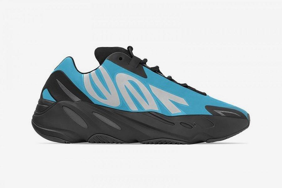 "adidas YEEZY 700 MNVN ""Bright Cyan"" sneakers"