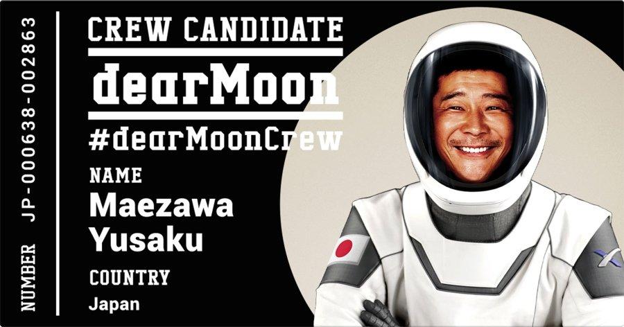 Yusaku Maezawa busca acompañantes para ir la luna