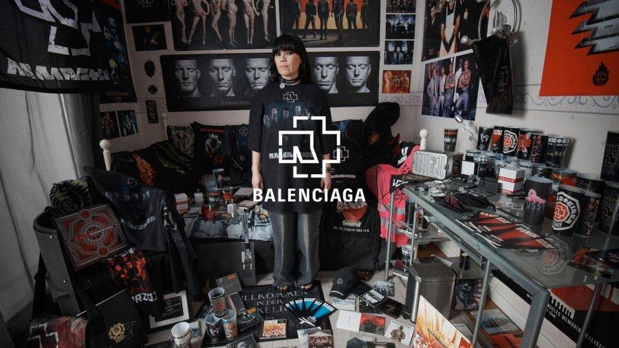 Nueva colección de Balenciaga y Rammstein