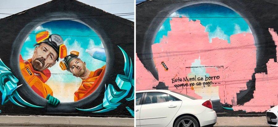 Mural por el colectivo Tripulaczion