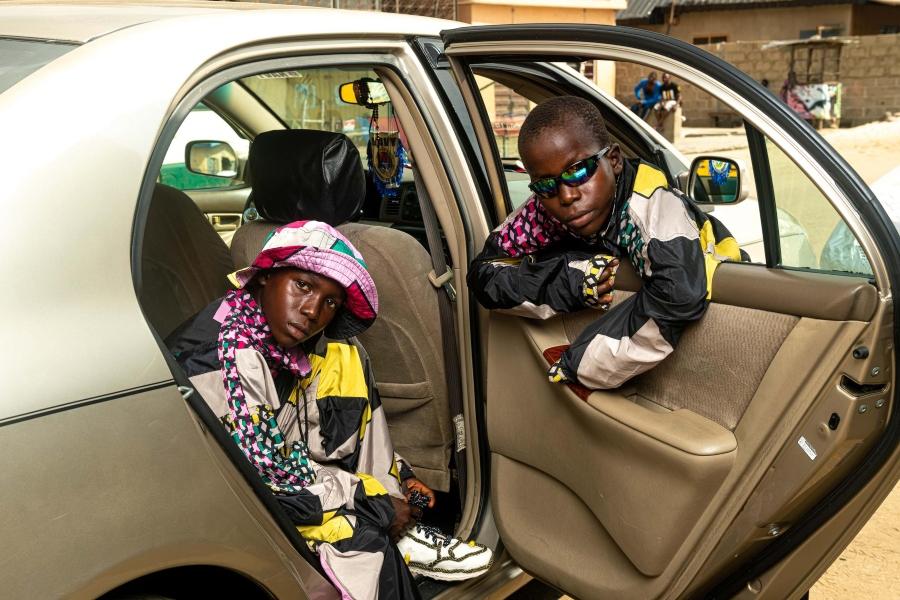 Jóvenes retratados por Dafe Oboro