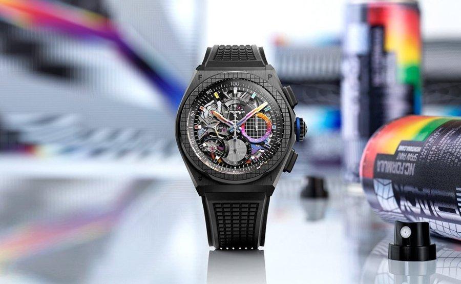 Reloj de Felipe Pantone