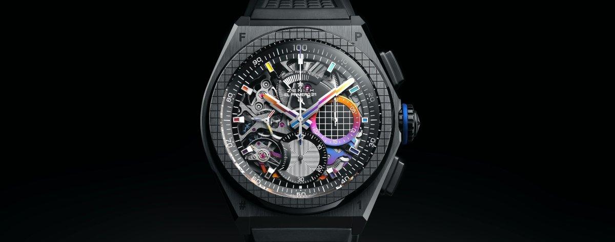Felipe Pantone y Zenith lanzan el reloj de lujo DEFY 21