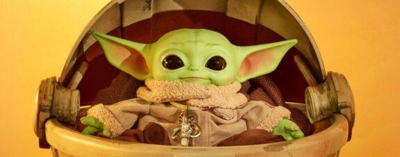 Mattel subastó una nueva figura de Baby Yoda ¡flotante!