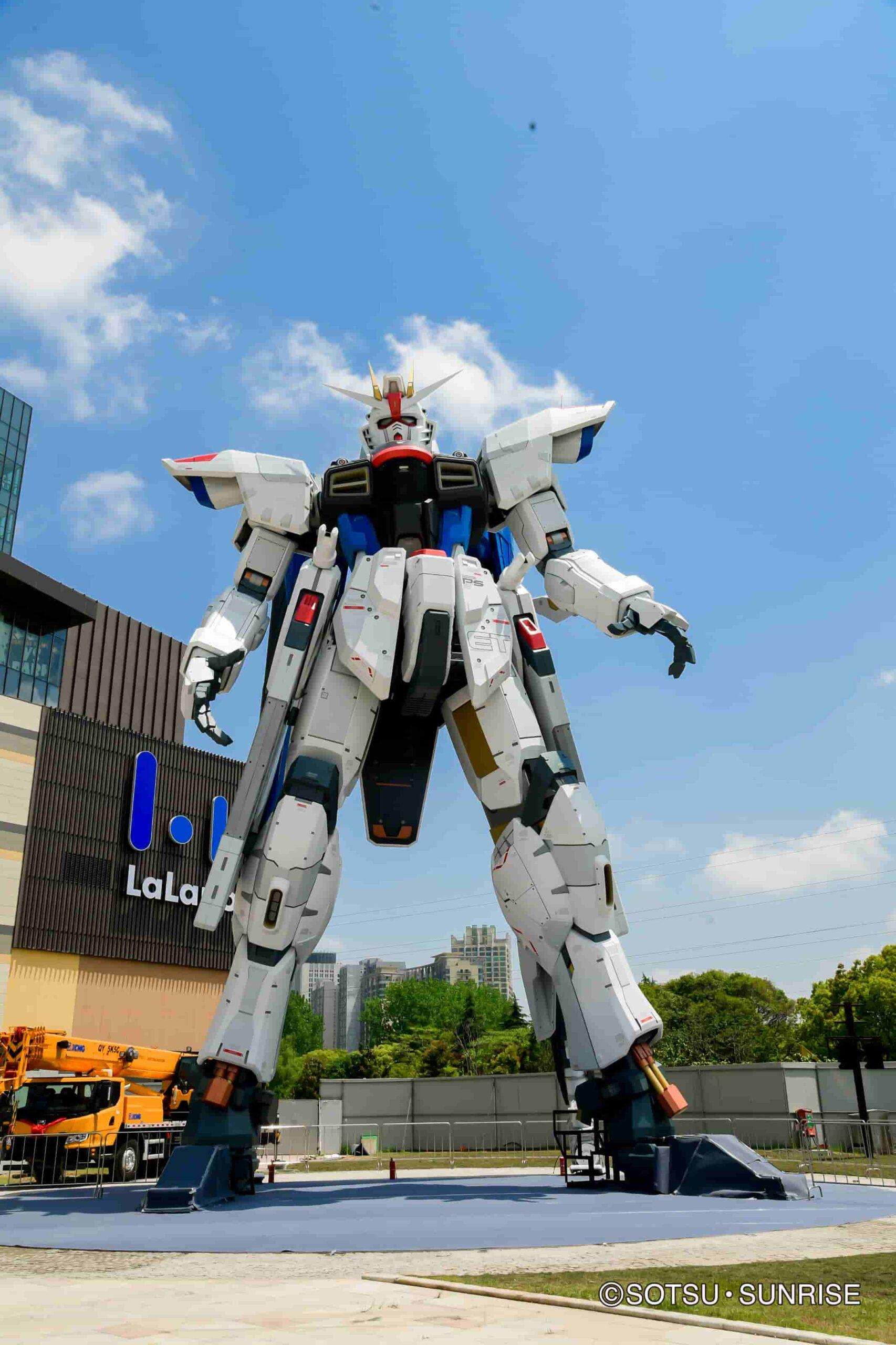 Robot gigante de Gundam