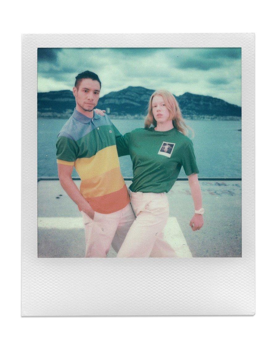 Nueva colección de Polaroid con Lacoste