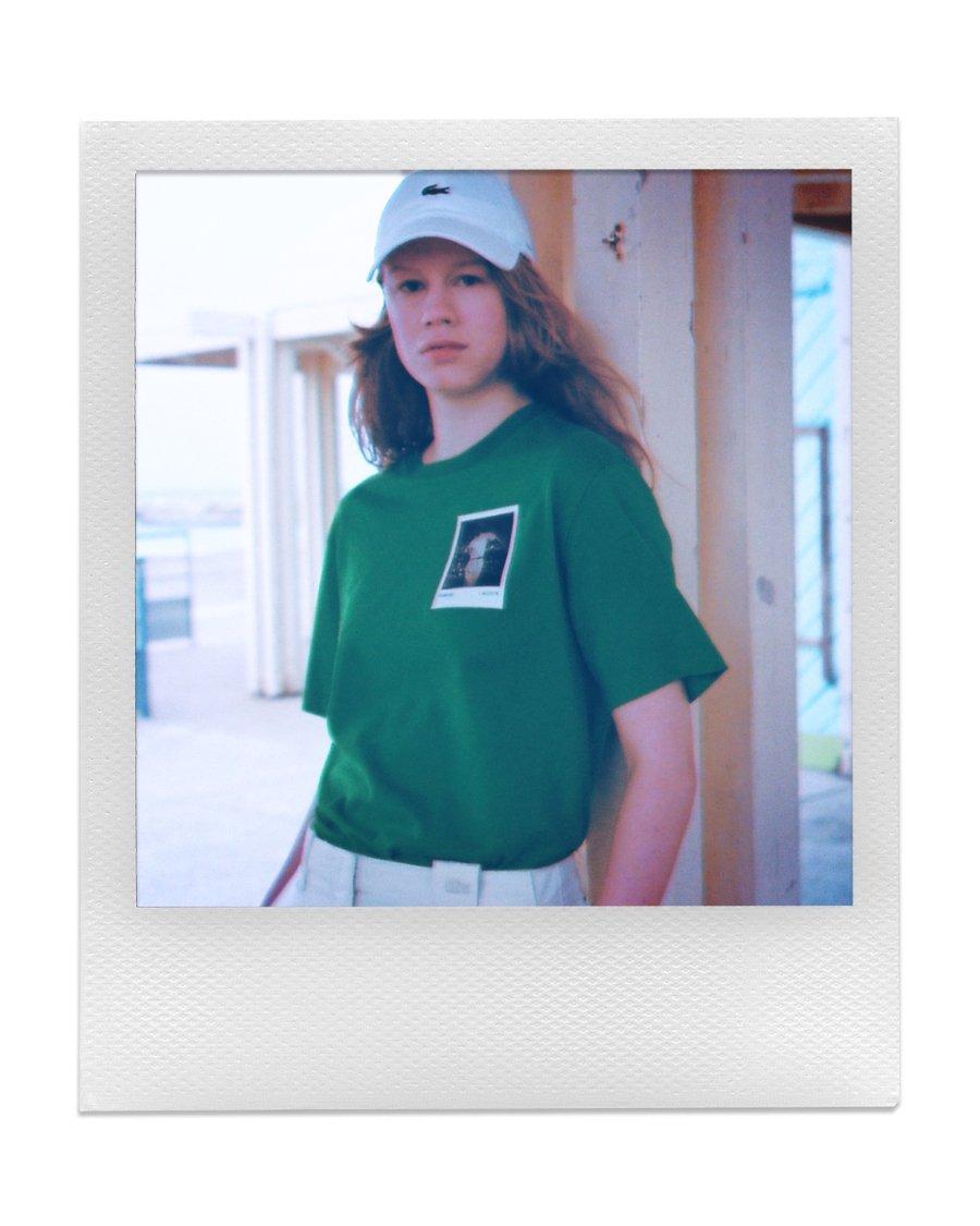Nueva colección Lacoste x Polaroid