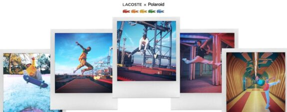 Lacoste x Polaroid con una colaboración muy retro