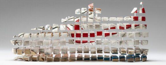 Objetos fragmentados en las esculturas de Fabian Oefner