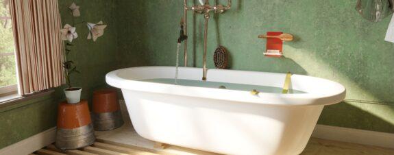 QS Supplies recrea baños de pinturas para ver como serían en la realidad