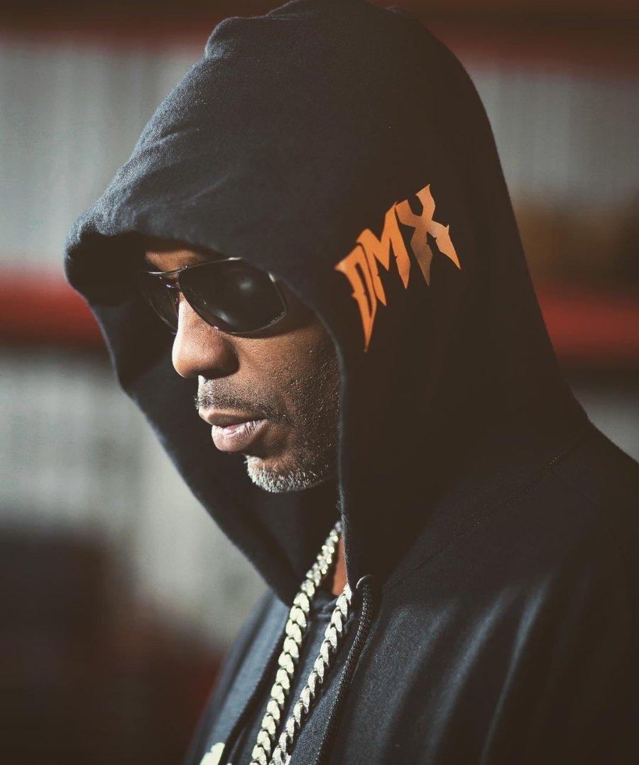 Retrato del rapero DMX