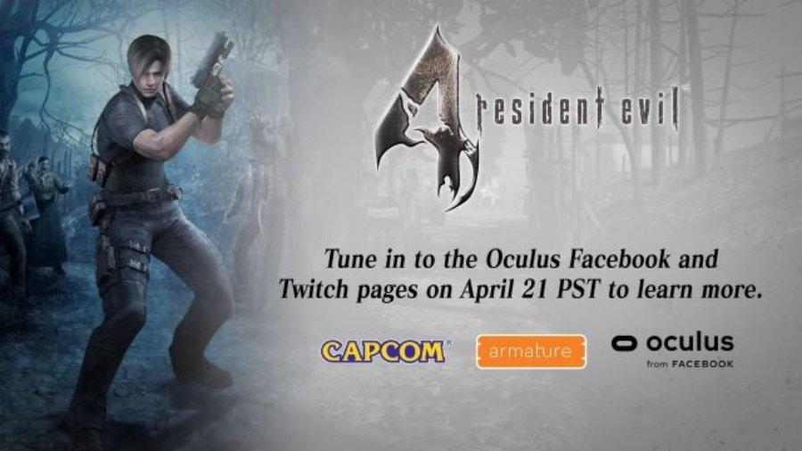 Nuevo Resident Evil 4 en Realidad Virtual