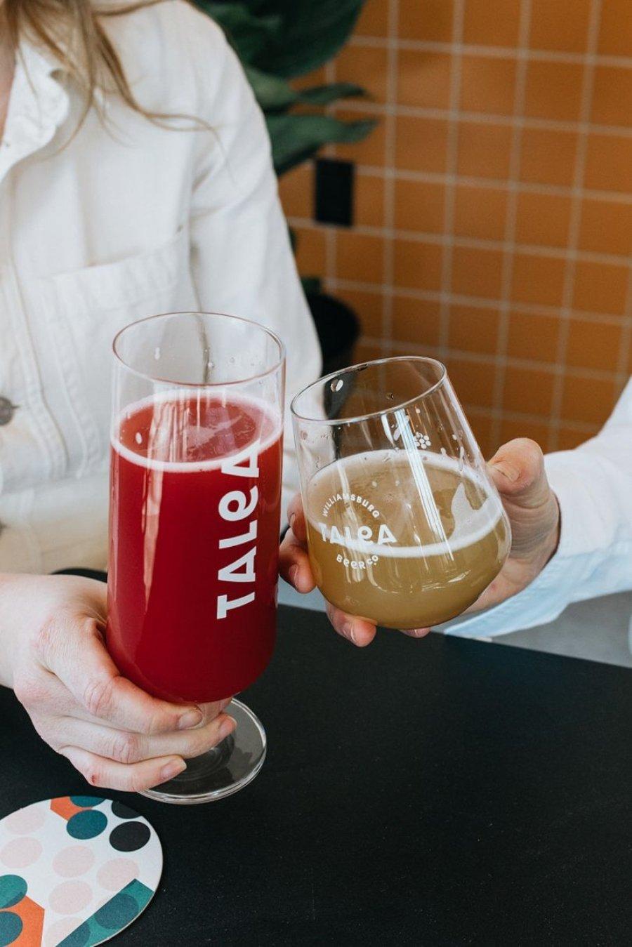 Copas de cerveza Talea