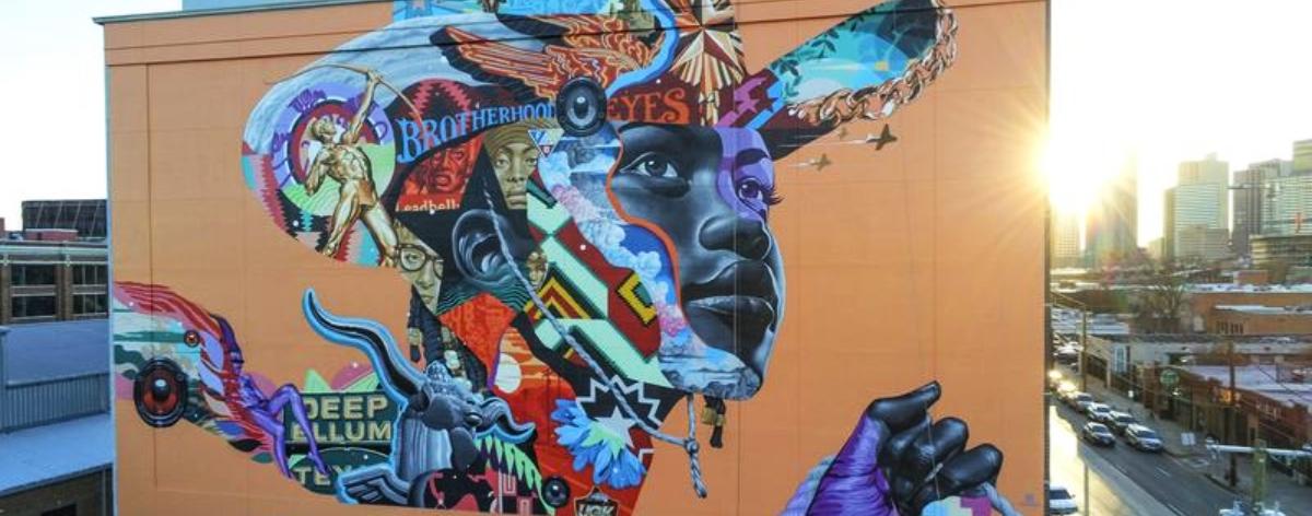 Tristan Eaton tiene nuevo mural en Dallas, Texas