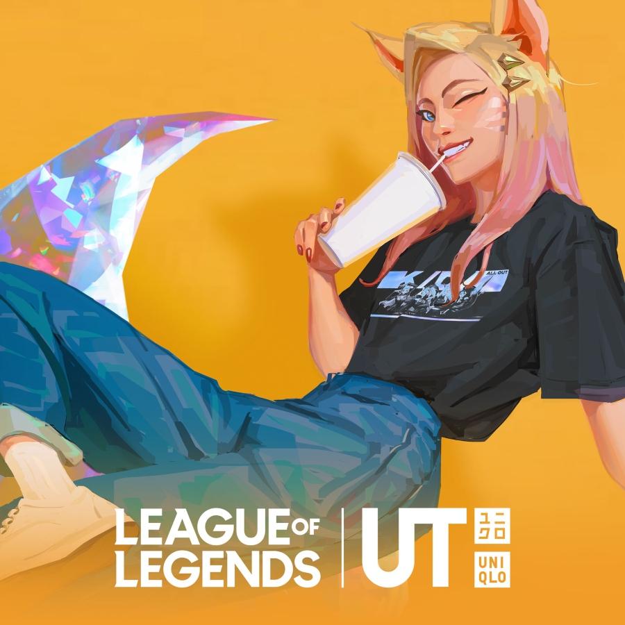 Nueva colección de League of Legends de Uniqlo