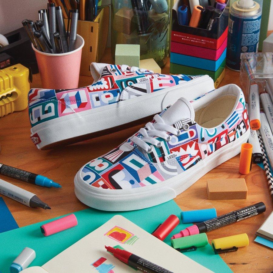 Diseños de Juan Carlos Loyo para Vans