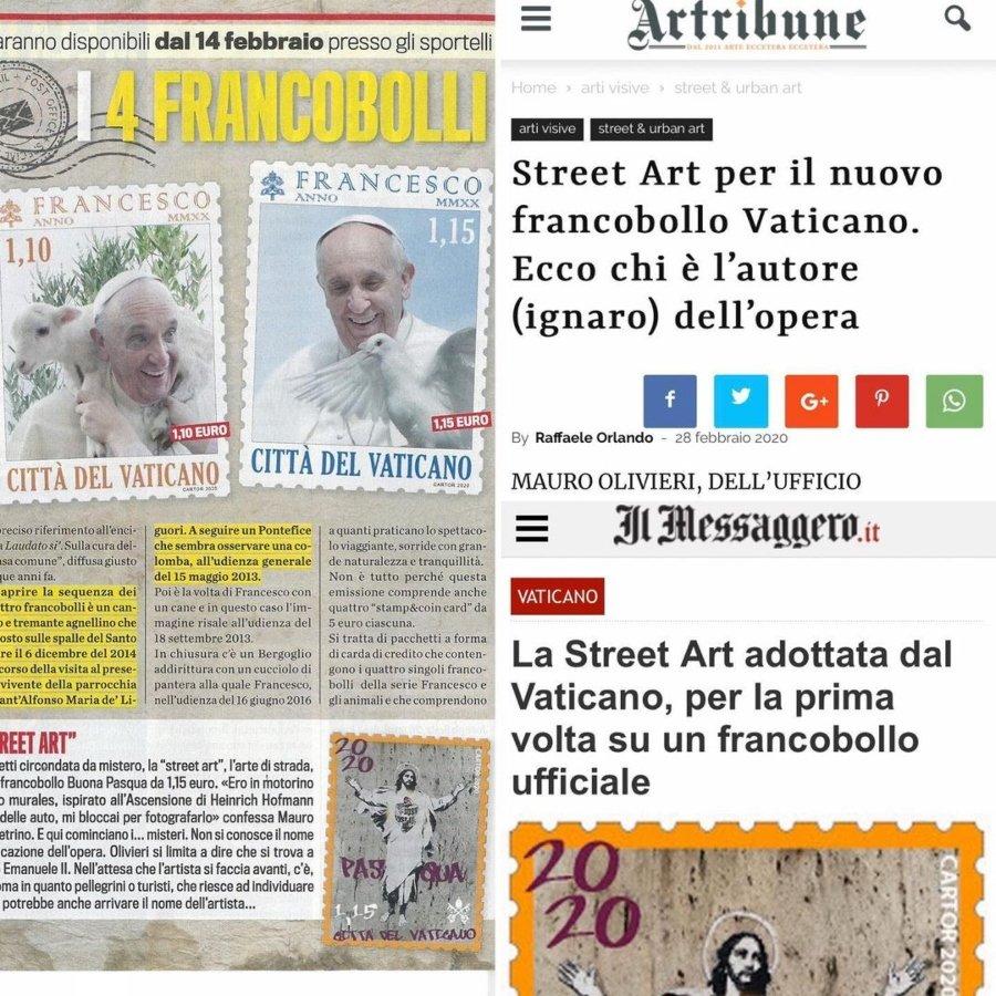 Noticia sobre la demanda que la artista interpuso contra el Vaticano