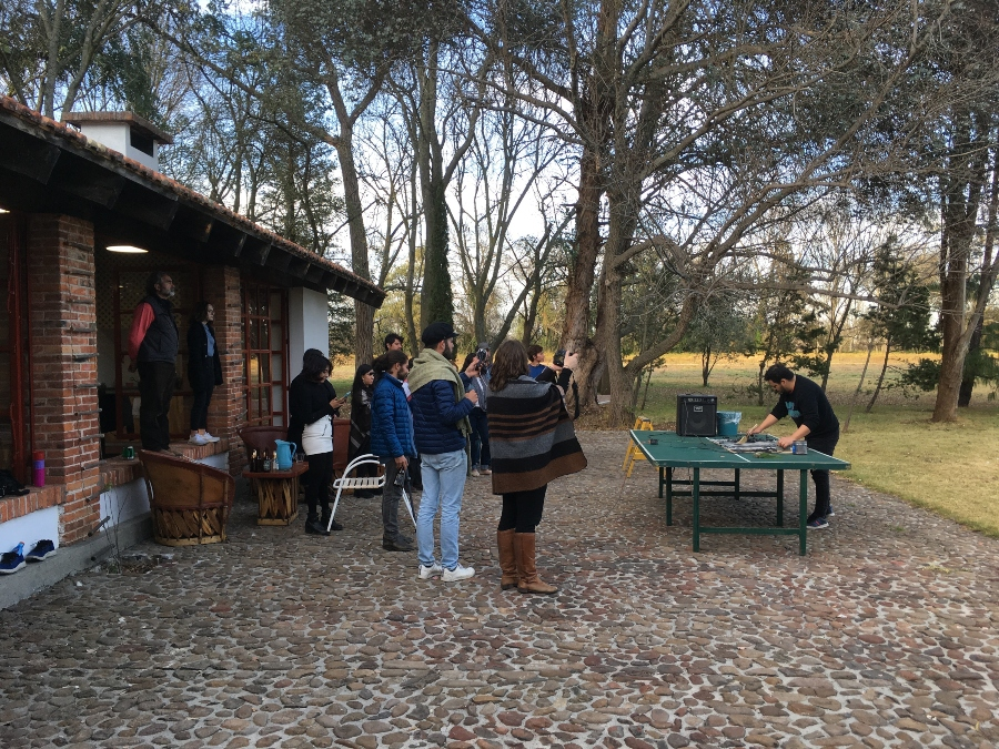 Experiencia en residencias pasadas de Cobertizo