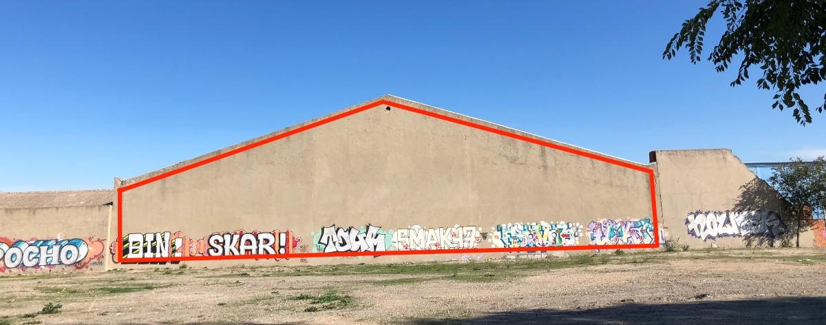 Concurso de arte urbano e instalaciones en Madrid