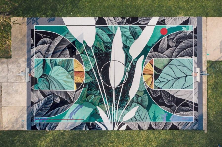 Mural de Fabio Petani en Italia