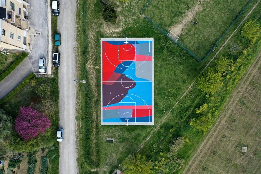 """Mural """"LANDSCAPE"""" de GiulioVesprini"""