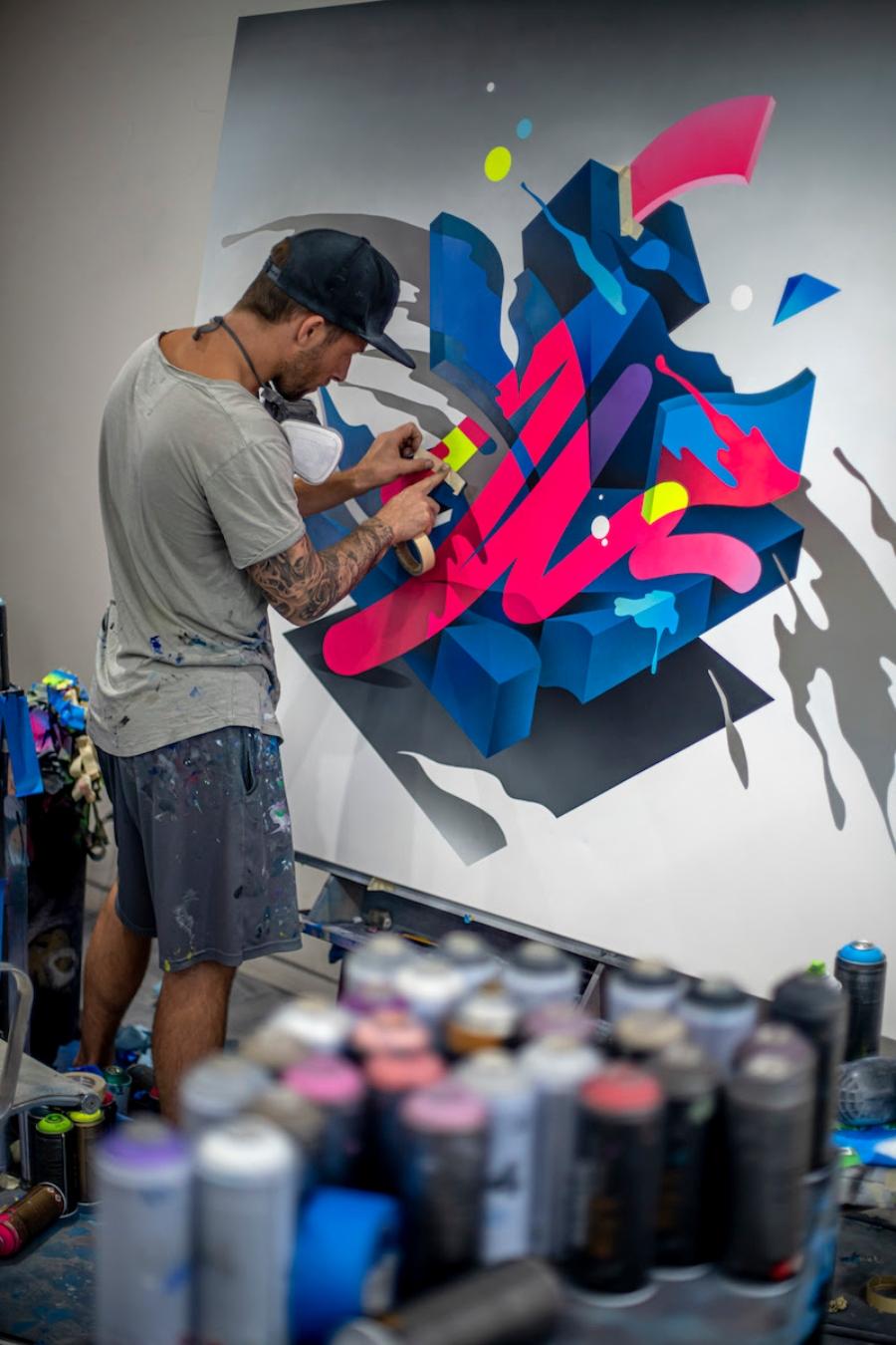 """""""Flow State"""" en Maddox Gallery"""