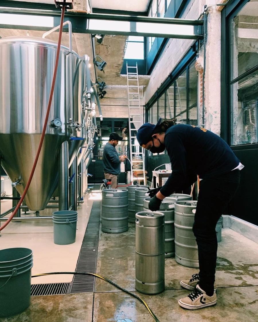 Almacenamiento de cerveza en La Ruina