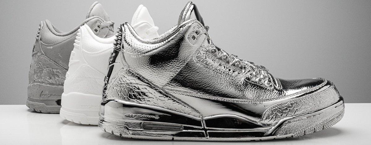 Study 003, las nuevas esculturas de sneakers de Matthew Senna