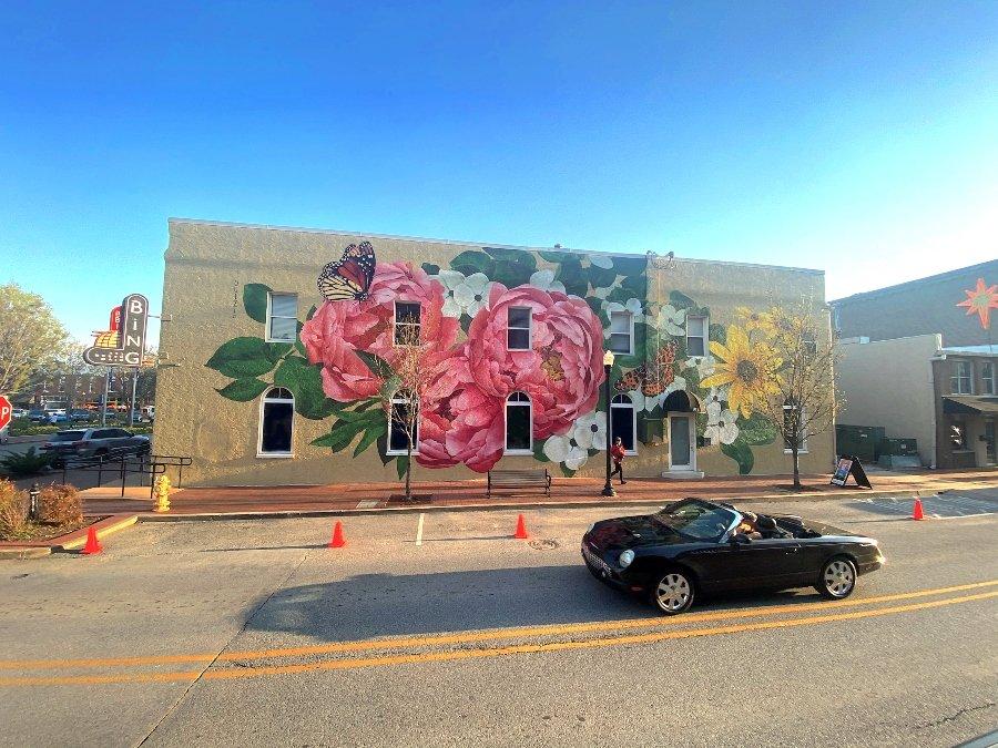Summer Always Blooms, nuevo mural de Ouizi