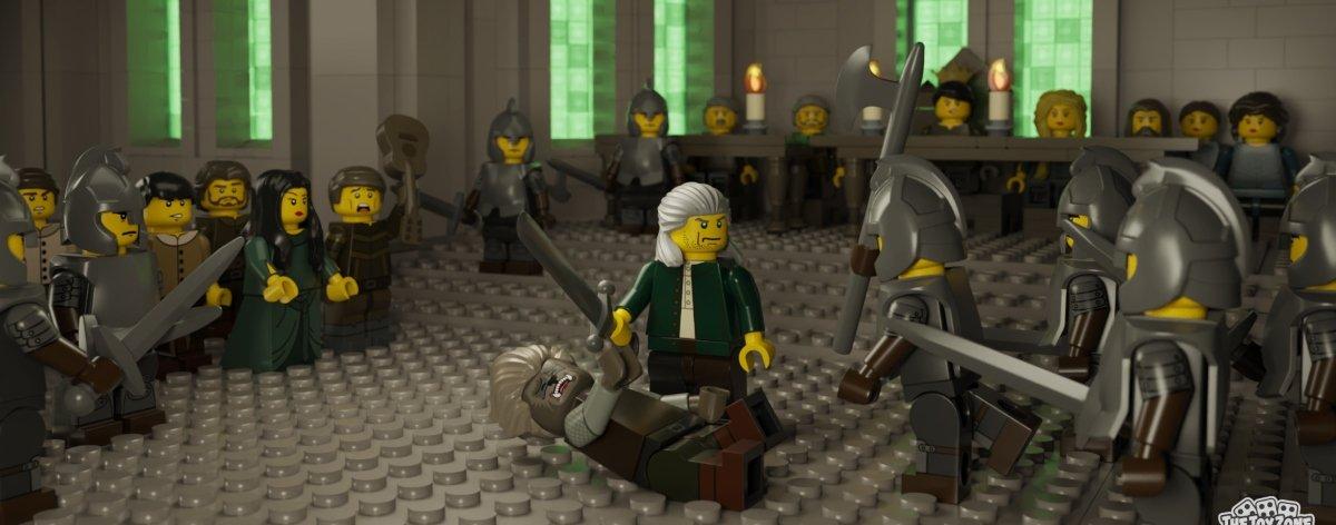 The Toy Zone recrea escenas de series de Netflix con LEGO
