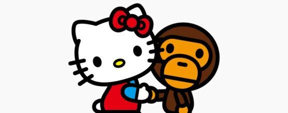 Bape y Sanrio reúnen a Baby Milo y Hello Kitty en nuevo drop