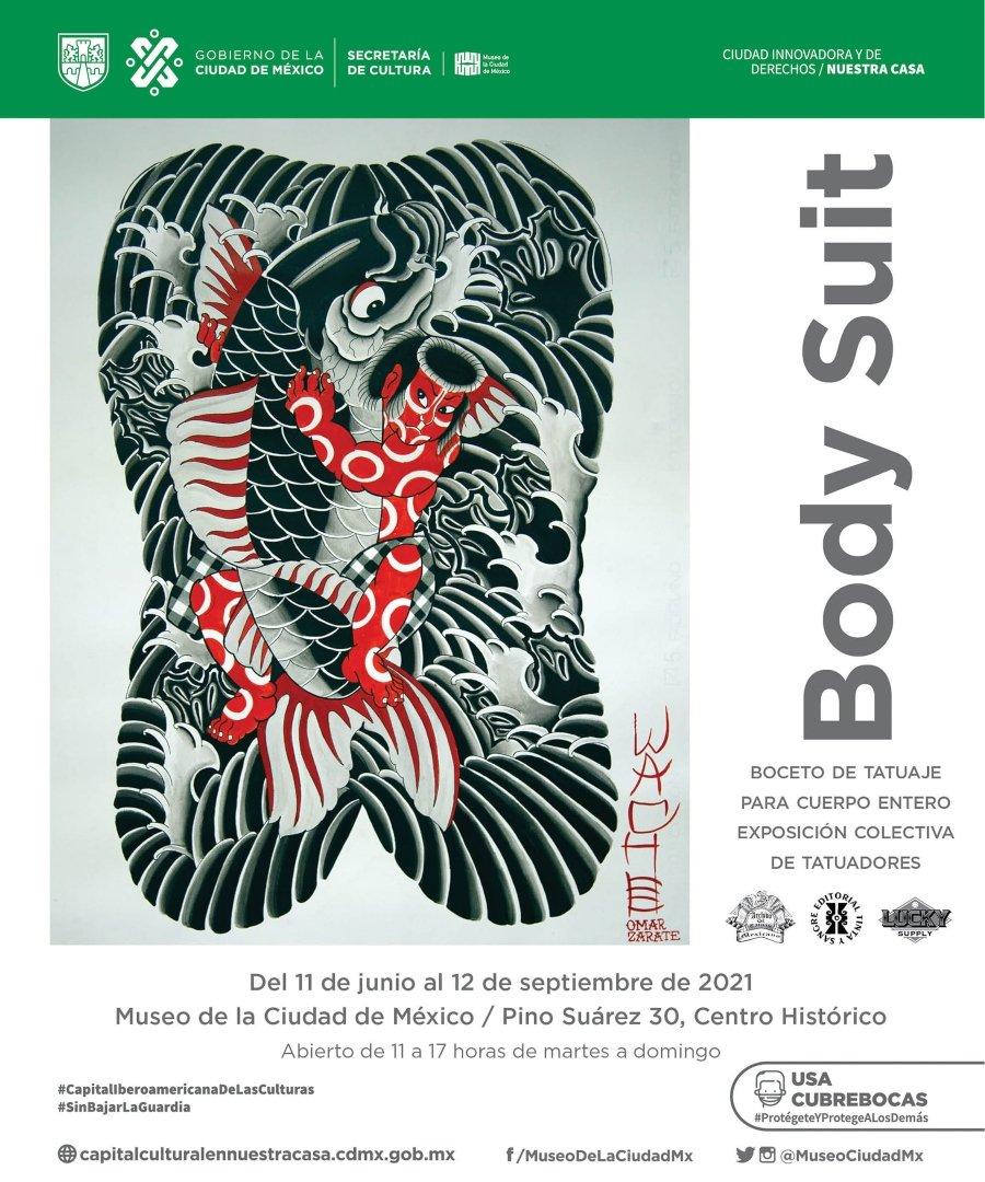 Exposición Body Suit en la CDMX