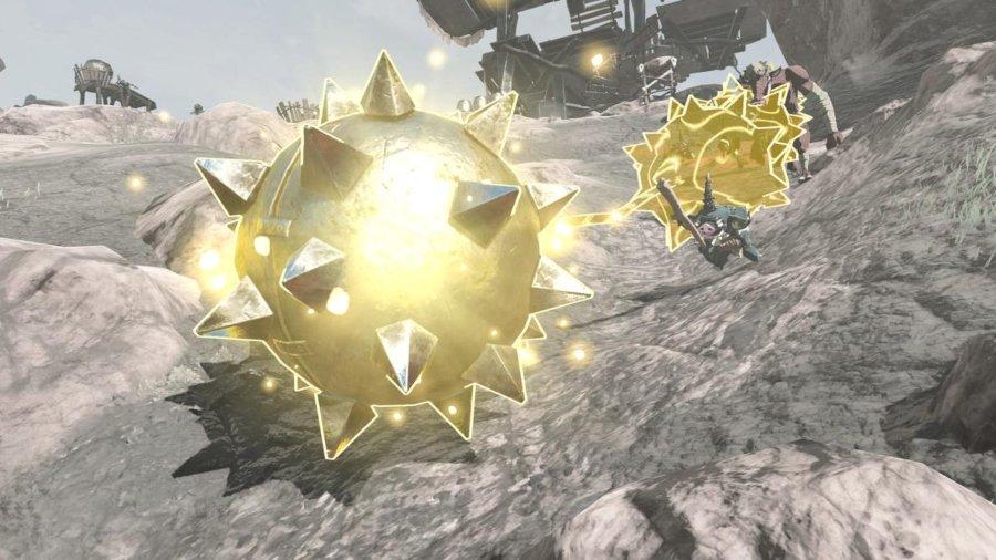 Escena de la secuela de Zelda