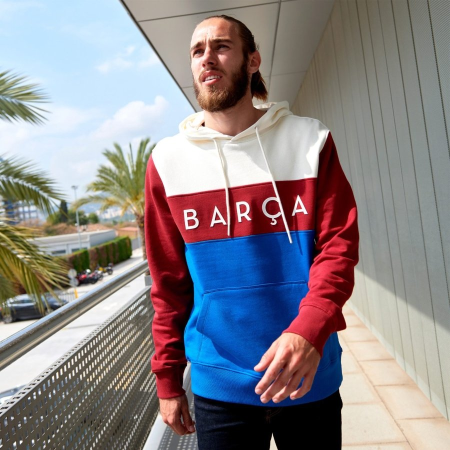 Color Block y Tape Nuevas colecciones de FC Barcelona