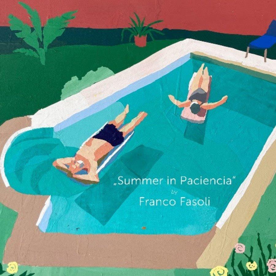 """Pintura de """"Summer in Paciencia"""""""