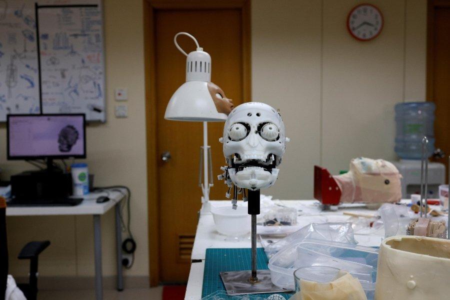 Prototipo de la enfermera robot