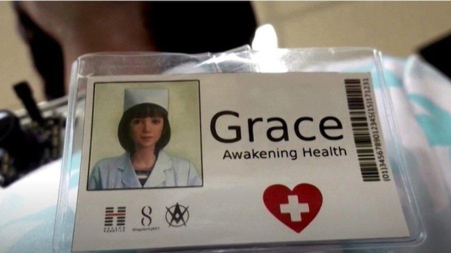 Prototipo de Grace, la enfermera robot