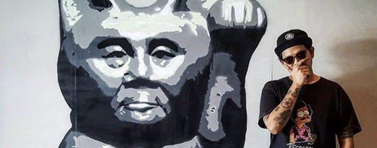"Headache Stencil presenta su serie «Fight Together with Myanmar"""