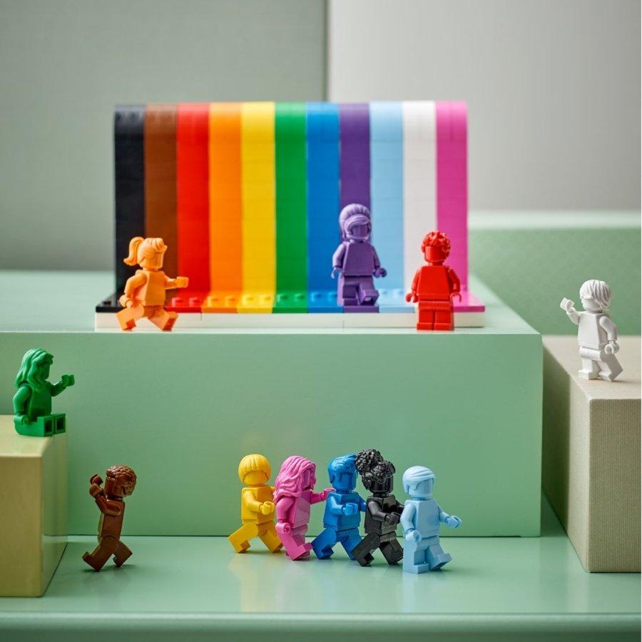 "Set ""Everyone is Awesome"" de LEGO."