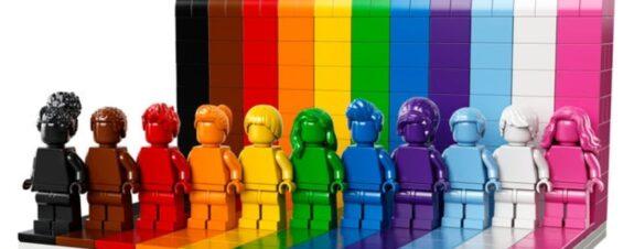 LEGO presenta su set de bloques que conmemora el Mes del Orgullo LGBT+
