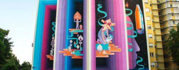 Los murales del mes de junio según All City Canvas