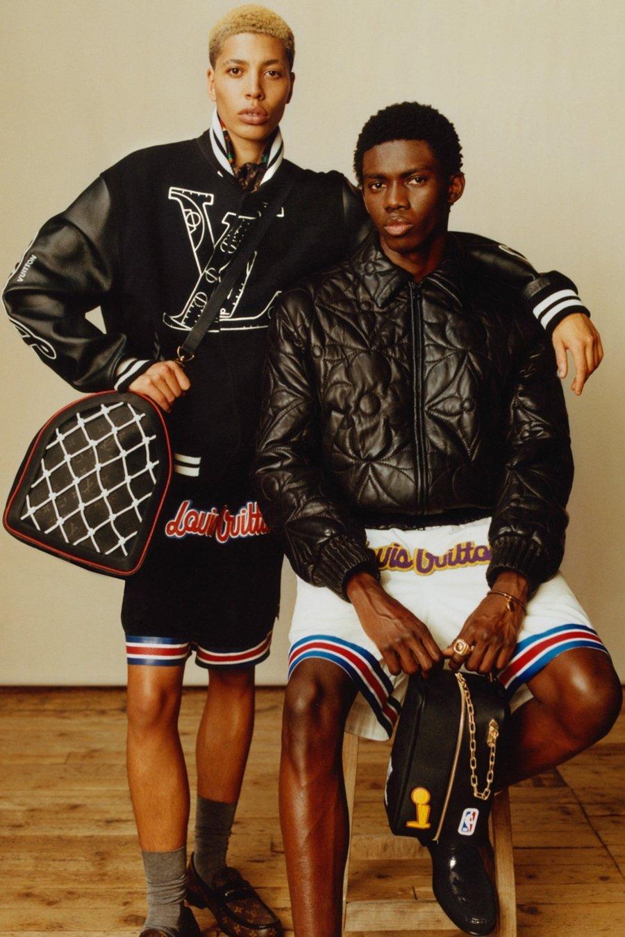 Colección Louis Vuitton y la NBA