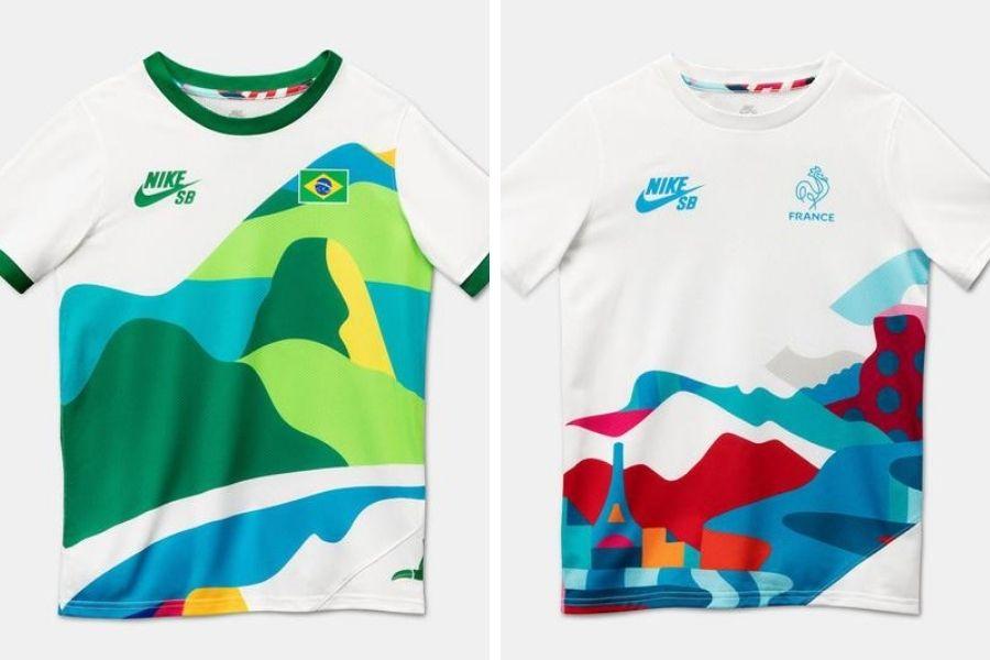 Uniformes oficiales de Nike SB y Parra para los Juegos Olímpicos Tokio 2021
